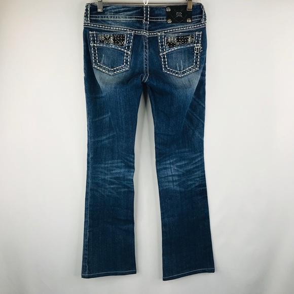 Miss Me Denim - Miss Me denim boot cut jeans SZ 27